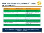 cerc tariff determination guidelines is a step in the right direction