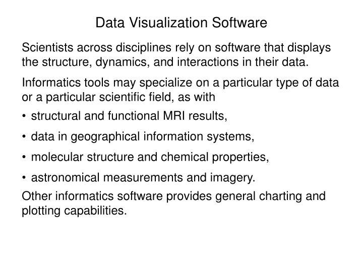 Data Visualization Software