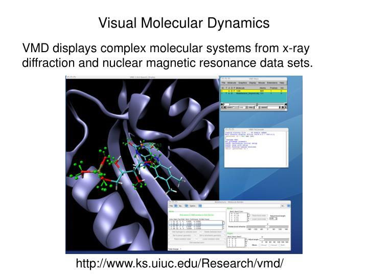 Visual Molecular Dynamics