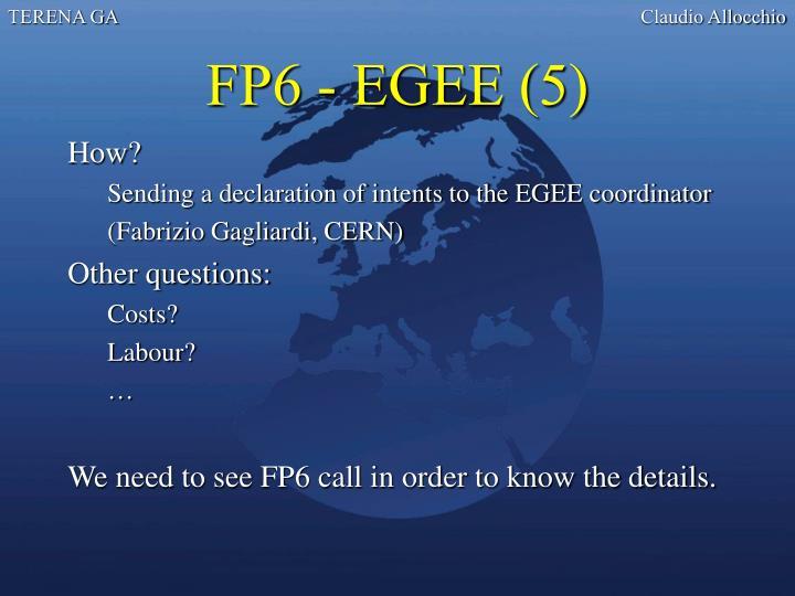 FP6 - EGEE (5)