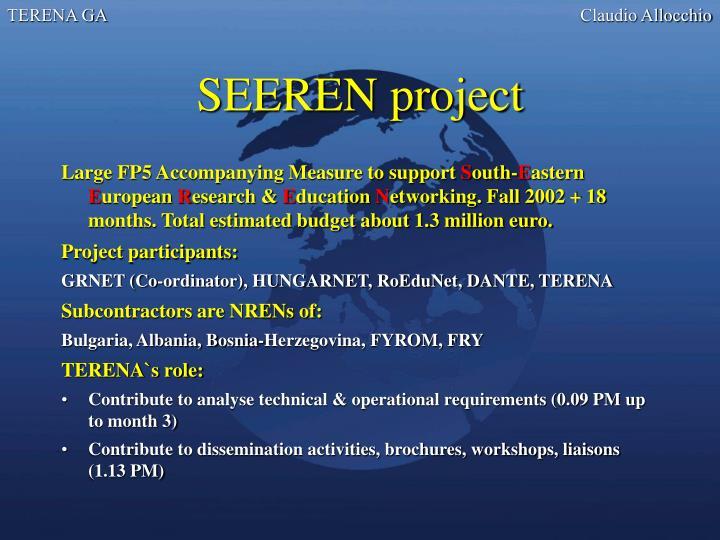 SEEREN project