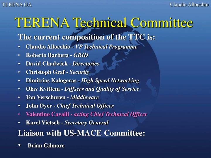 TERENA Technical Committee