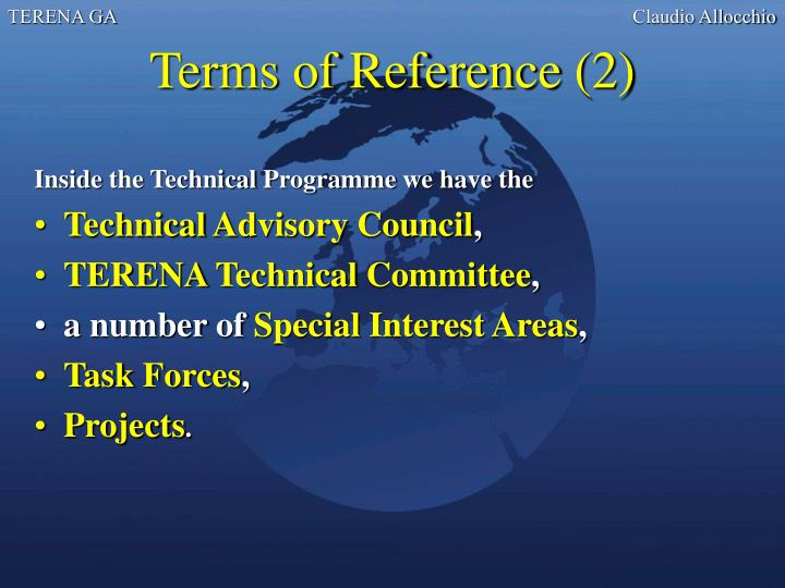 Terms of Reference (2)
