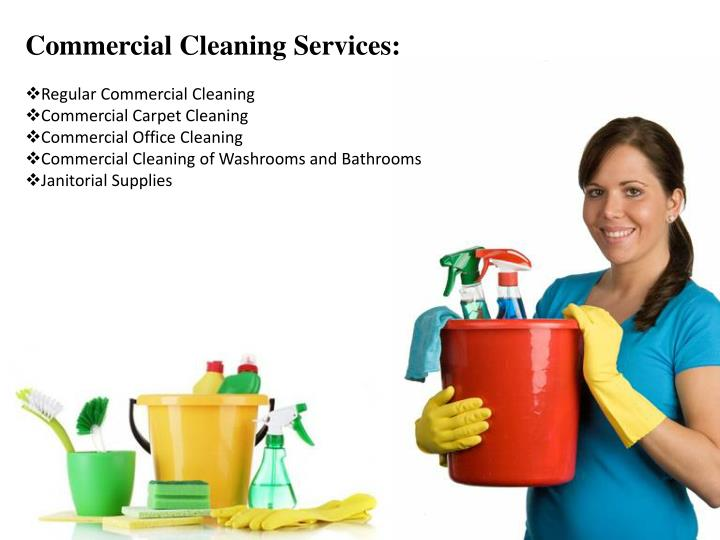 Commercial Cleaning Services: