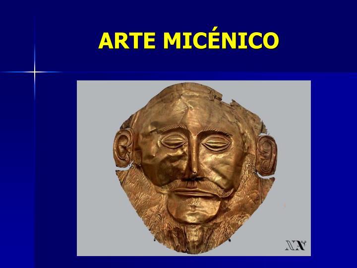 ARTE MICÉNICO