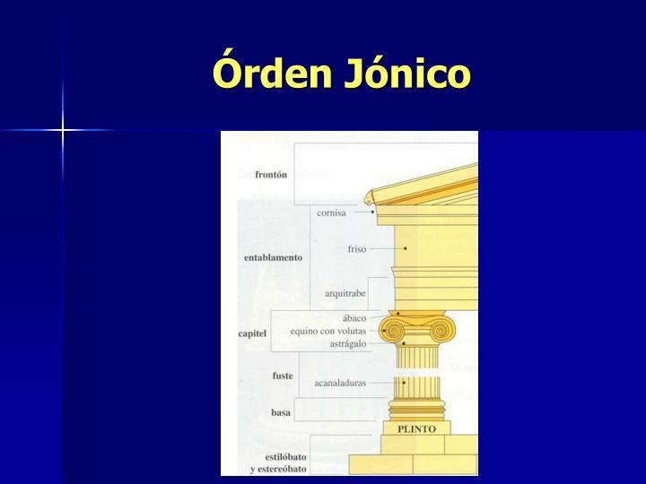 Órden Jónico
