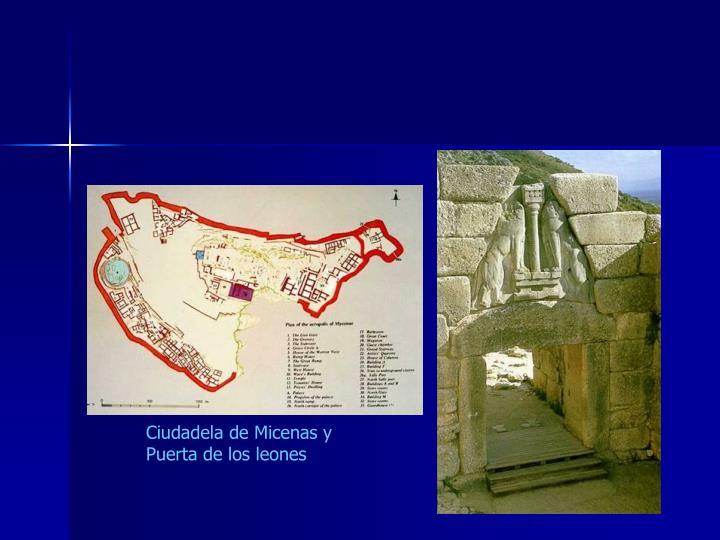 Ciudadela de Micenas y Puerta de los leones