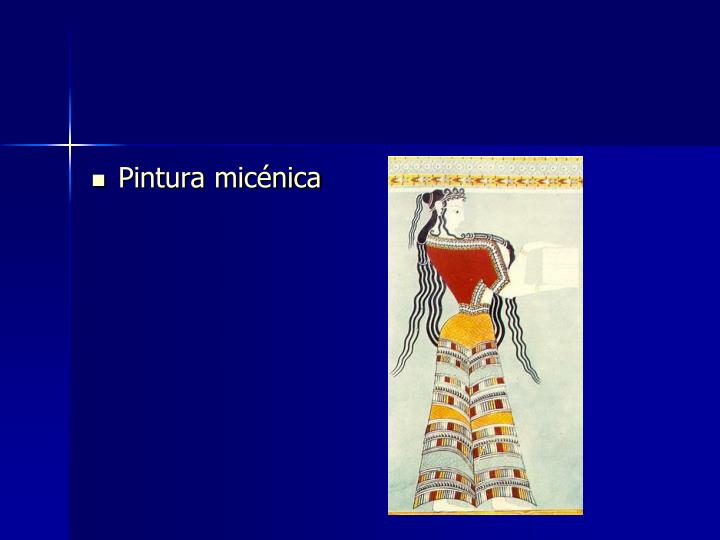 Pintura micénica