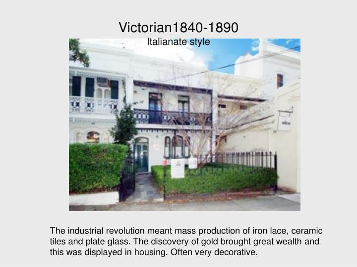 Victorian1840-1890