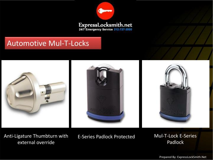 Automotive Mul-T-Locks