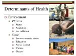 determinants of health2
