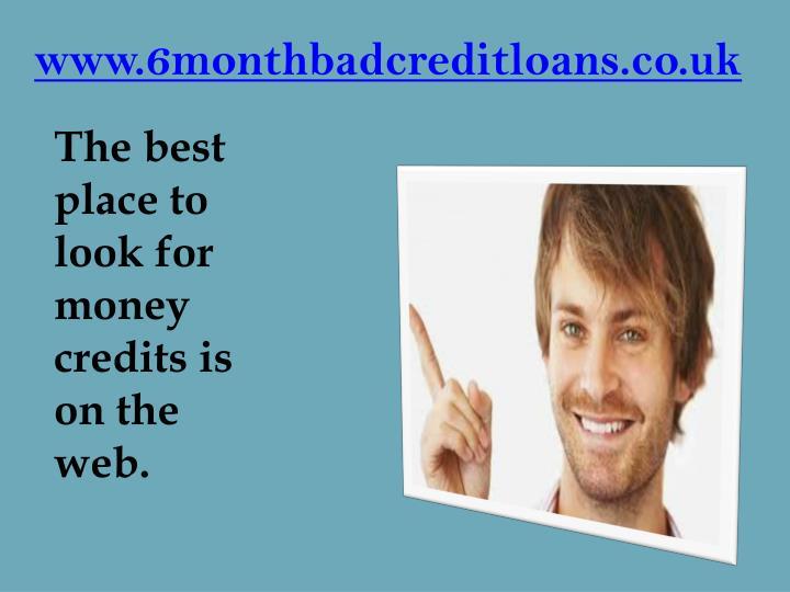 www.6monthbadcreditloans.co.uk