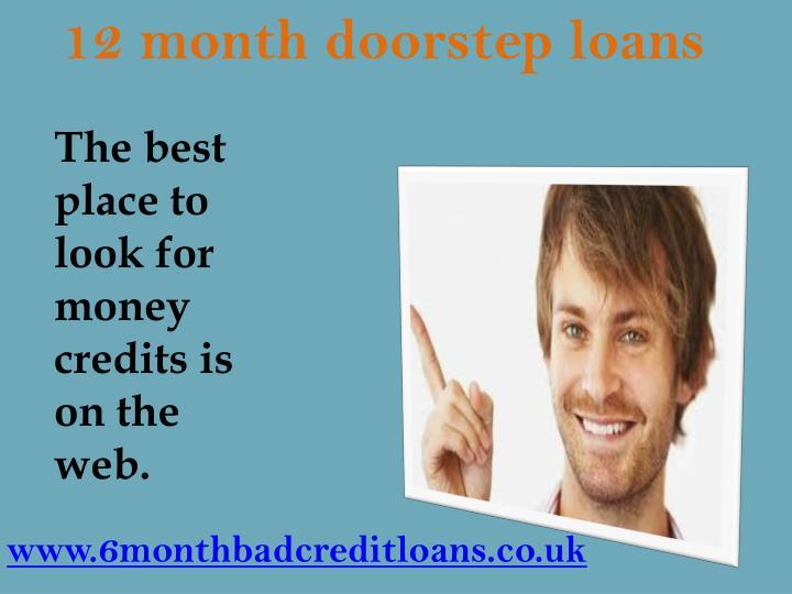 12 month doorstep loans