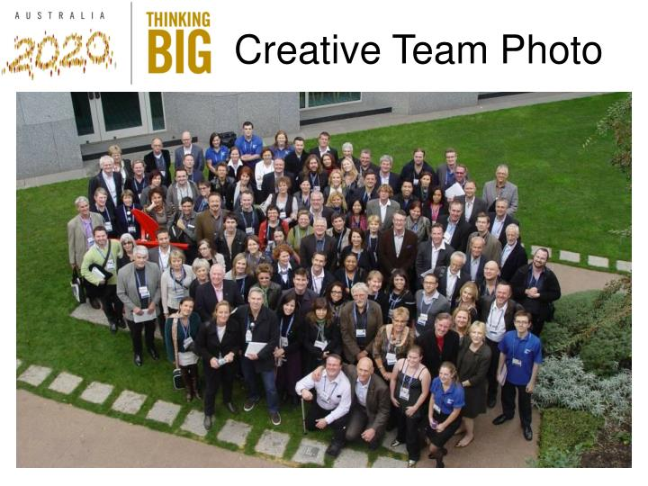 Creative Team Photo