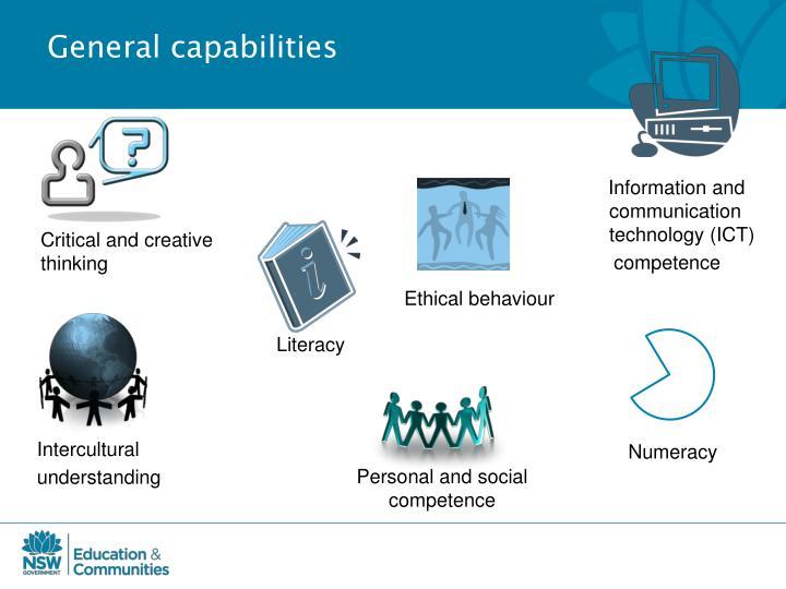General capabilities