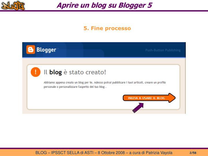 Aprire un blog su Blogger 5