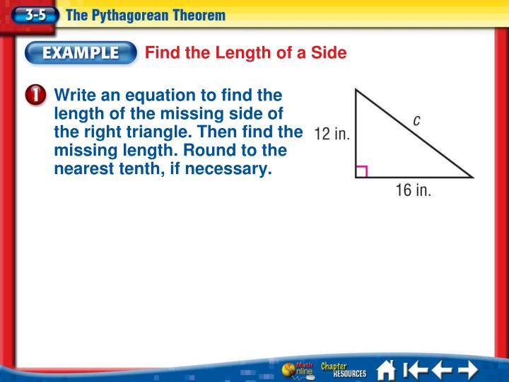 Find the Length of a Side
