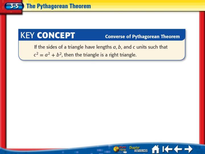 Lesson 3-5 Key Concept 2