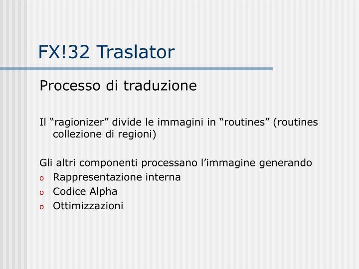 FX!32 Traslator