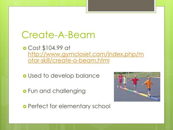 Create-A-Beam