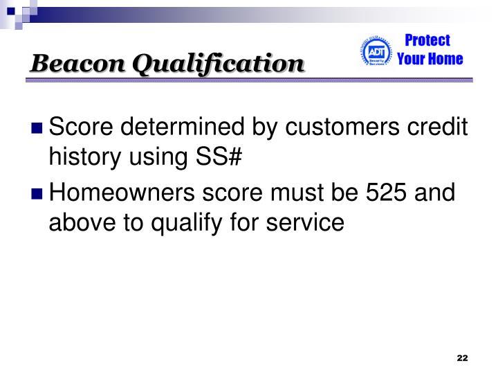 Beacon Qualification