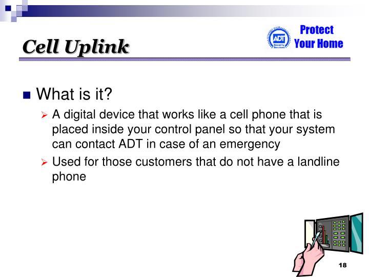 Cell Uplink