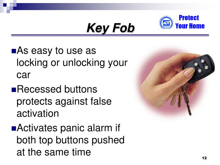 As easy to use as locking or unlocking your car