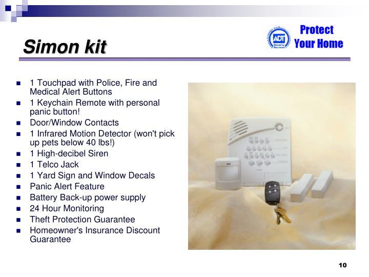 Simon kit