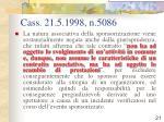 cass 21 5 1998 n 5086