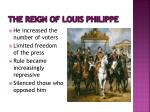 the reign of louis philippe1