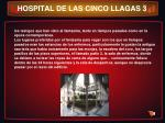 hospital de las cinco llagas 3