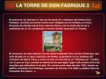la torre de don fadrique 2