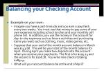 balancing your checking account3