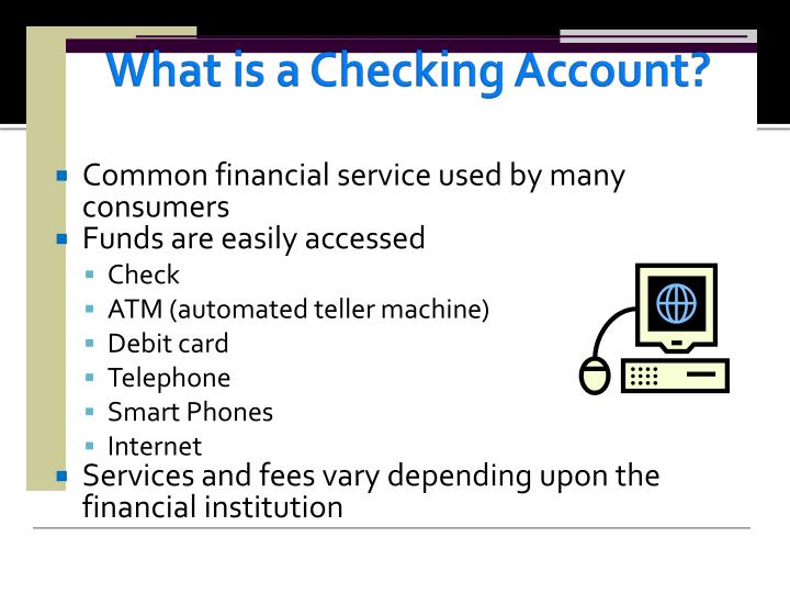 What is a checking account