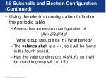 4 5 subshells and electron configuration continued10