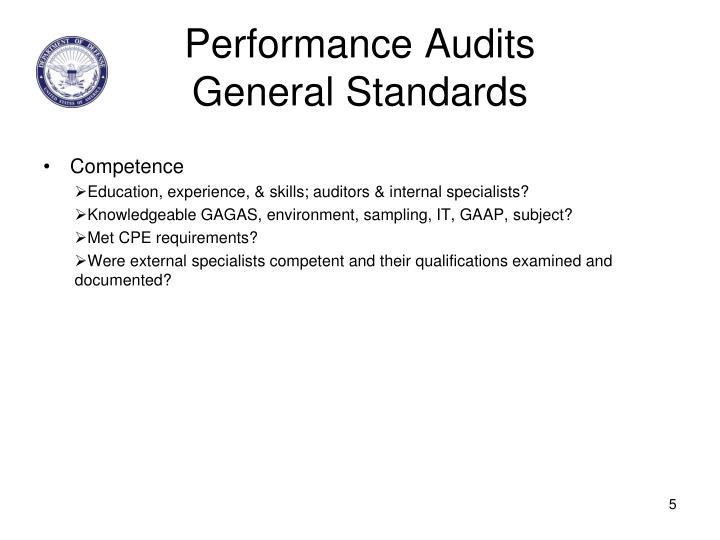 Performance Audits