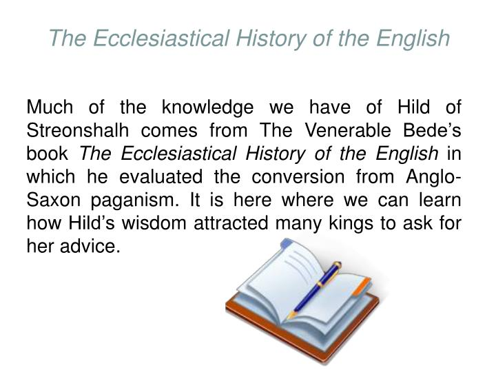 The Ecclesiastical History of the English