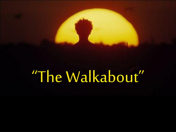 """""""The Walkabout"""""""