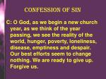 confession of sin1