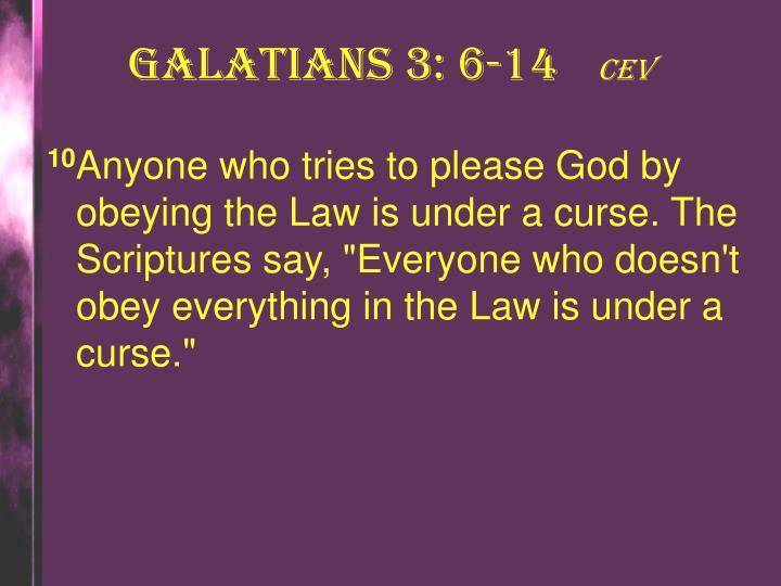 Galatians 3: