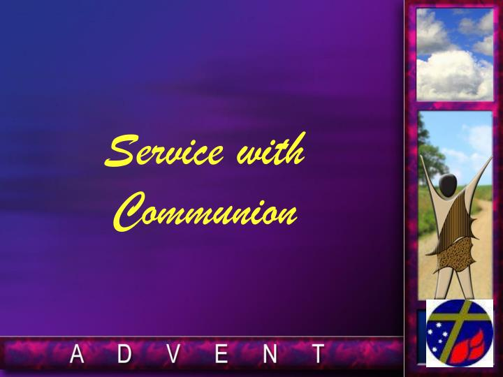 Service with Communion