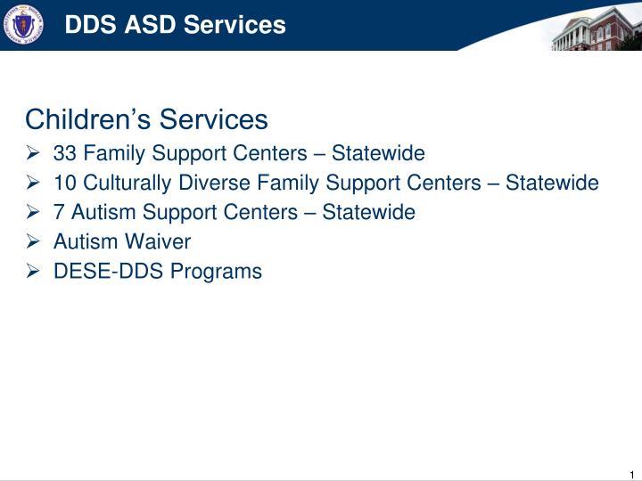 DDS ASD Services
