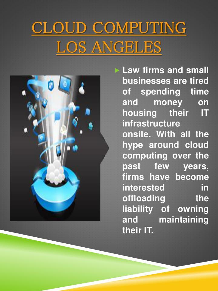 Cloud Computing Los Angeles