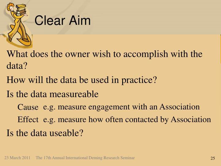 Clear Aim