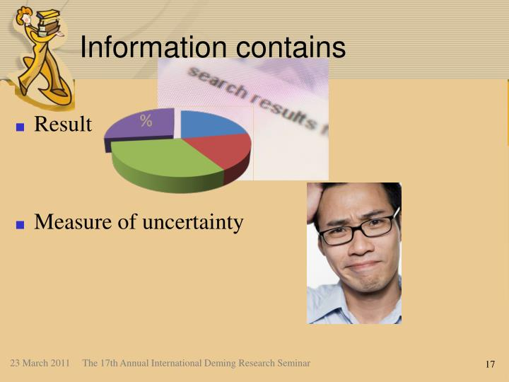 Information contains