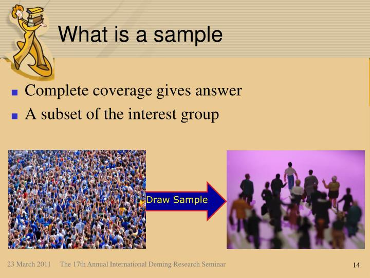 What is a sample