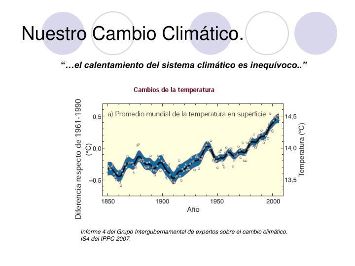 Nuestro Cambio Climático.