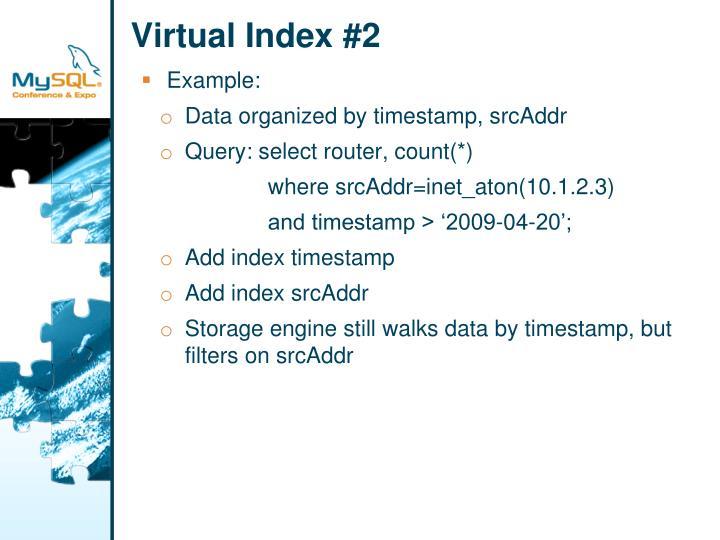 Virtual Index #2