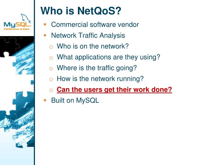 Who is NetQoS?
