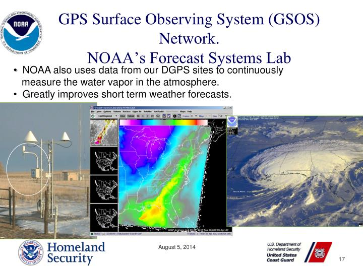 GPS Surface Observing System (GSOS) Network.